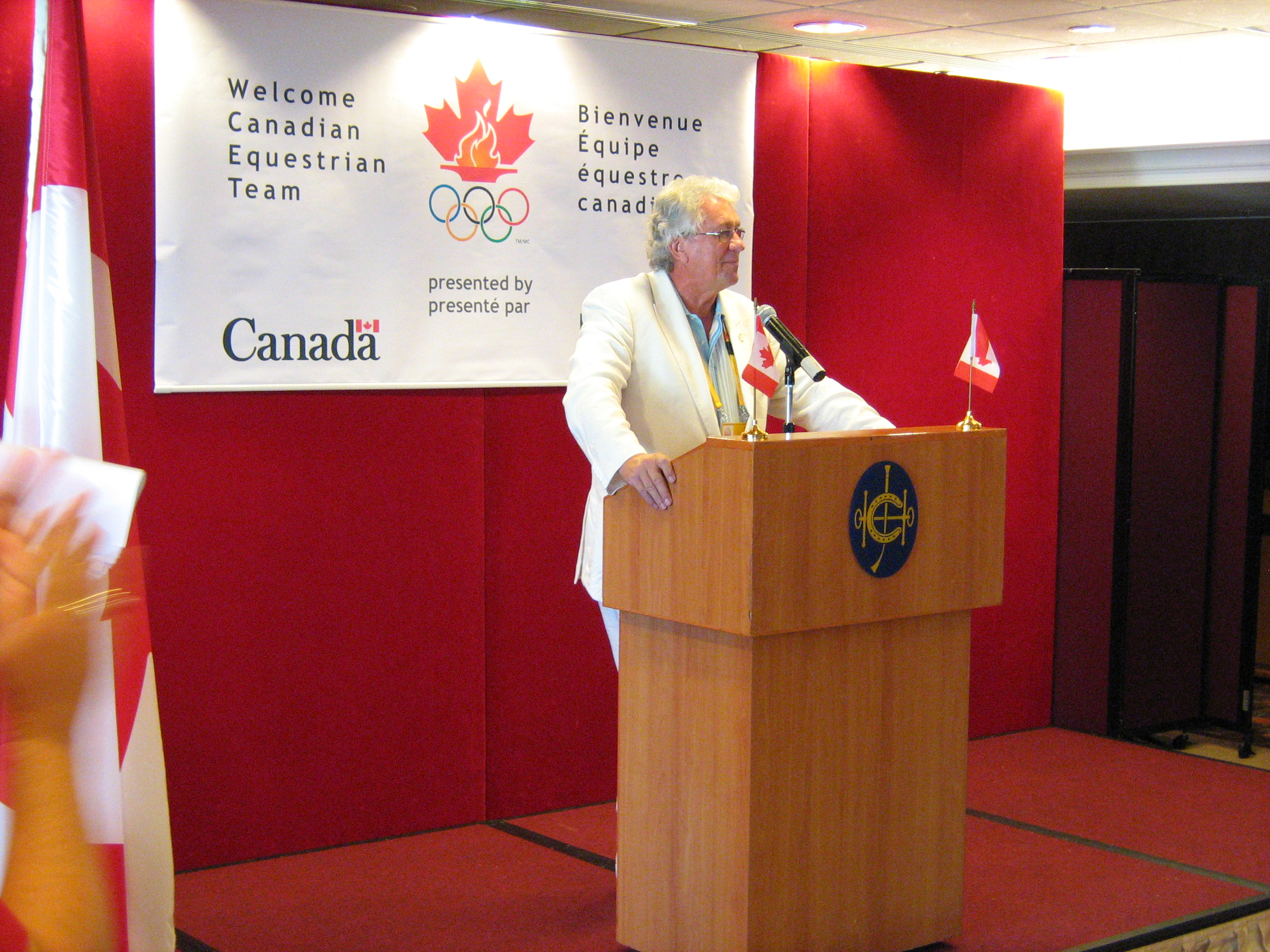 Chris Rudge, CEO of the Canadian Olympic Committee