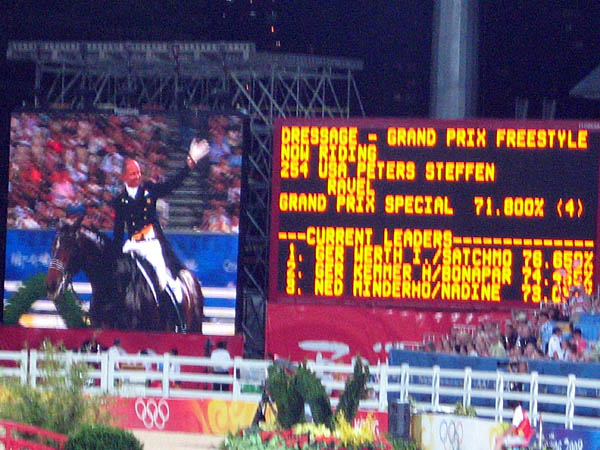 Steffen Peters looked estatic following his ride!
