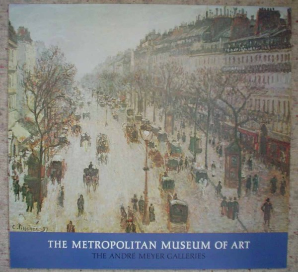 Camille Pissarro Boulevard Montmartre On a Winter Morning by The