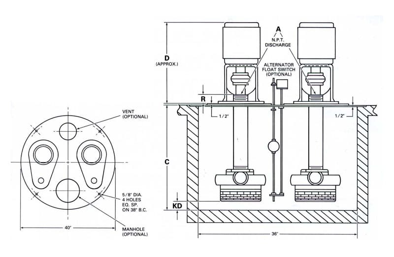 myers well wiring diagram