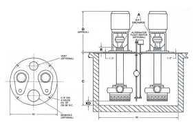 5210-Kerr-Industrial-Sump-Pump-TypeA-Duplex-Drawing