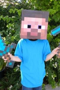 Minecraft Party Diamond Sword