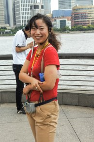 """Li Li our guide for Shanghai, Suzhou and Hangzhou."""