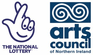 Image shows logo for Arts Council of Northern Ireland and Lottery Fund