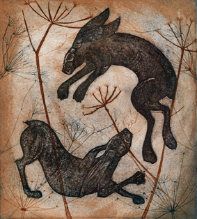 THE DANCING OF HARES2