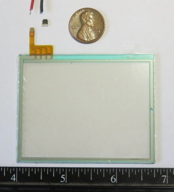 Replacement touchscreen for Nintendo DS Lite game console
