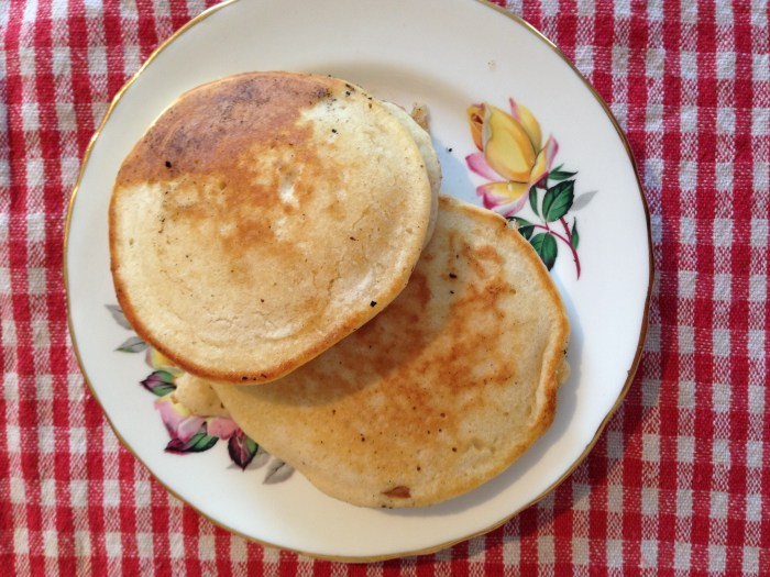 Easy foolproof recipe for delicious homemade Scotch Pancakes by Mary Berry! Just five ingredients and ten minutes for an amazing brunch treat!