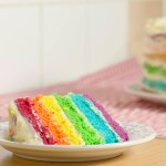 Easy 6-Layer Rainbow Cake – Step by Step
