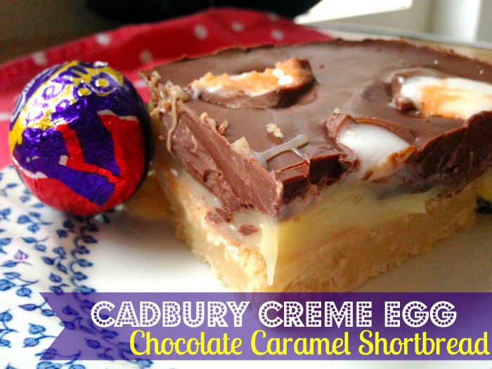 Creme Eggs are TOO healthy so let's eat them on top of Millionaire's Shortbread! This is SO decadent and SO good!