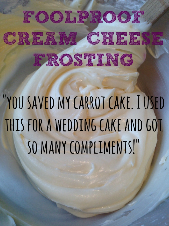How to: Foolproof Thick Cream Cheese Frosting Recipe. Problems with your cream cheese frosting? Runny, yellow, lumpy? Follow my foolproof tutorial for the THICKEST, best Cream Cheese Frosting ever!