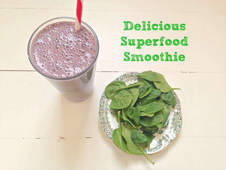 Try this Delicious Superfood Smoothie - it tastes like a milkshake!