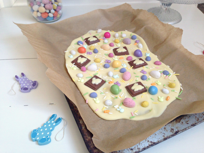 Easter White Chocolate Bark | Kerry Cooks