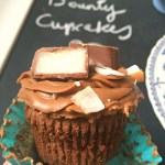 Bounty Chocolate Coconut Cupcakes