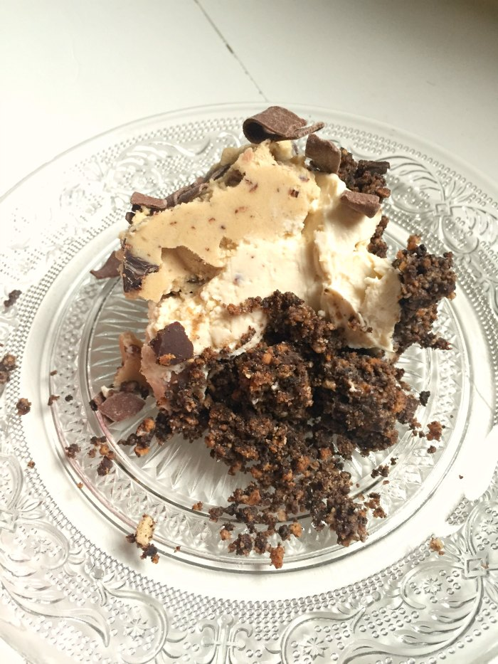 Such a simple and easy no-bake dessert! No-Bake Easy Cookie Dough Cheesecake by Kerry Cooks