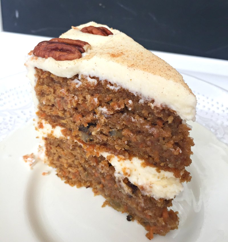 Carrot Cake Recipe With Raise And Walnuts