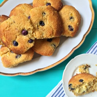 Blueberry and Sweetcorn Muffins