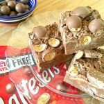 Easy No Bake Malteser Chocolate Slice
