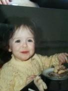 Me eating cake!