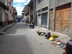 Trash in Street