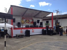 Stage for Sombrero Rally