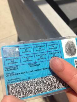 Post-voting ID