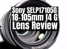 Sony SELP18105G - E PZ 18-105mm f4 G OSS Power Zoom Lens Review 1