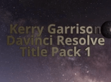 Davinci Resolve Title Pack 1 5