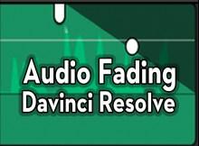 Fading Audio with Davinci Resolve 3