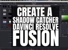 Creating a Shadow Catcher - Davinci Resolve Fusion 4