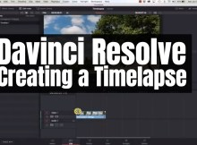 Davinci Resolve - Creating a Timelapse 1