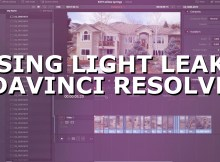 Using Light Leaks with Davinci Resolve 1