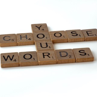 inspiring tiles that say choose your words