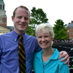 Kerry and her nephew Michael at his 2013  Wake Forest graduation. Courtesy of Kerry Hannon