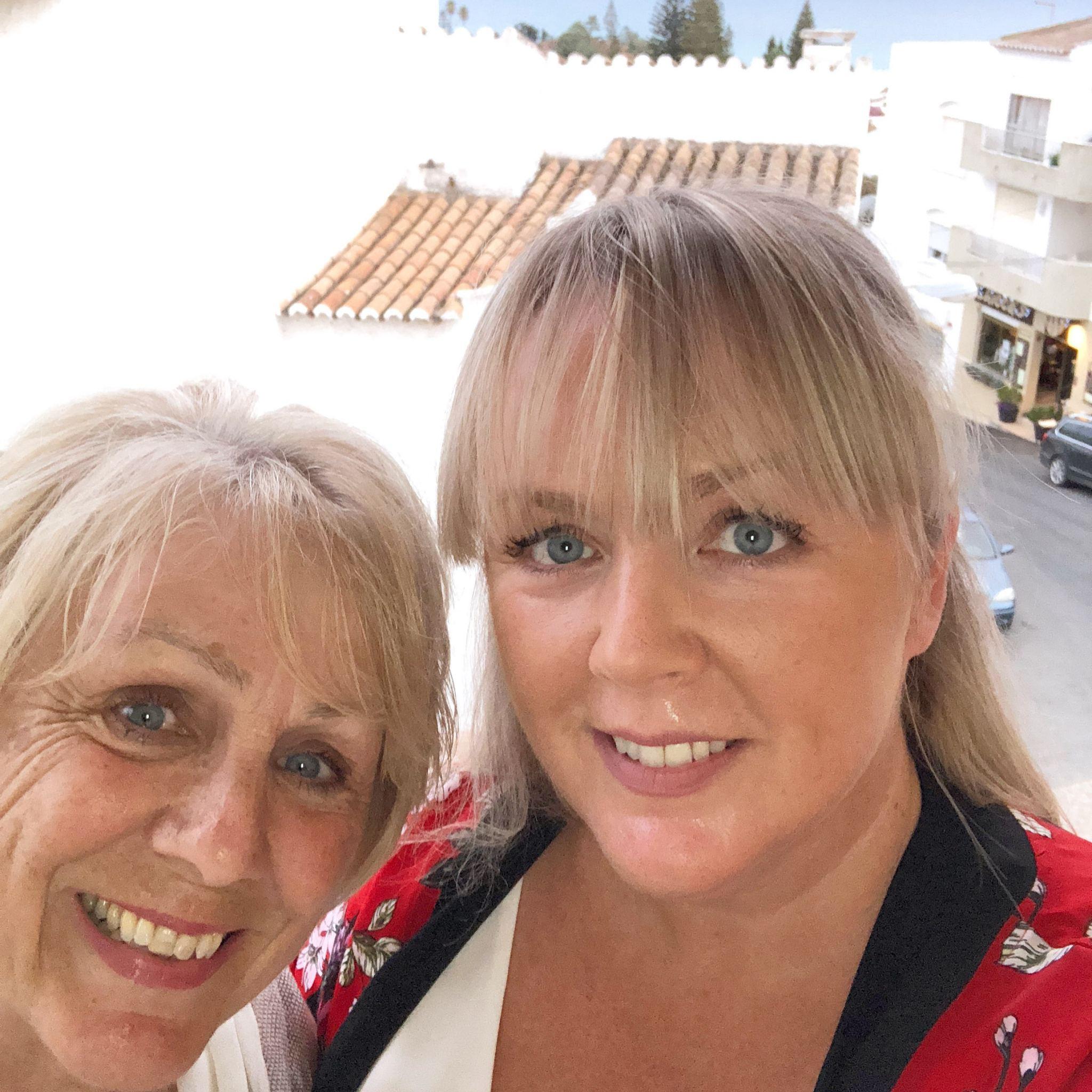 me and mum short break in Luz, the algarve