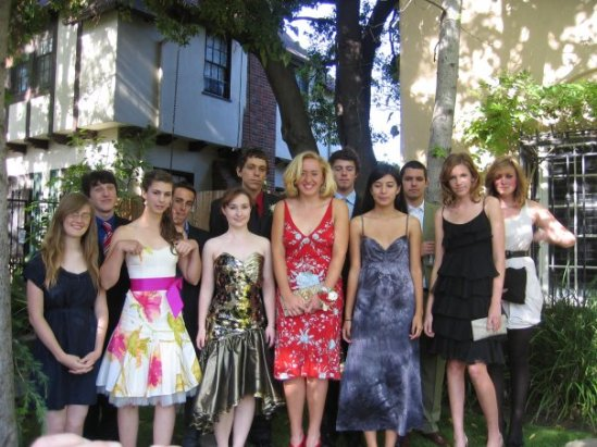 Lucy's prom