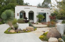Spanish Bungalow Landscaping