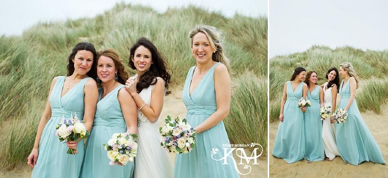 Gallivant hotel wedding beach photos