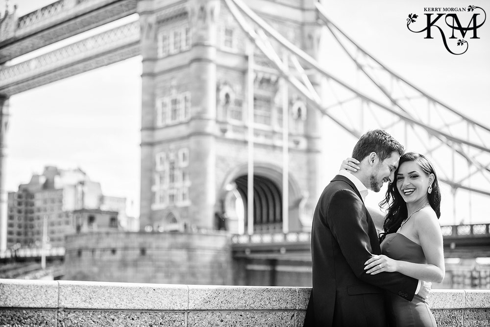 London Bridge engagement shoot