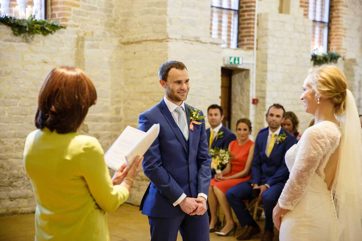 wedding at the tithe barn petersfield