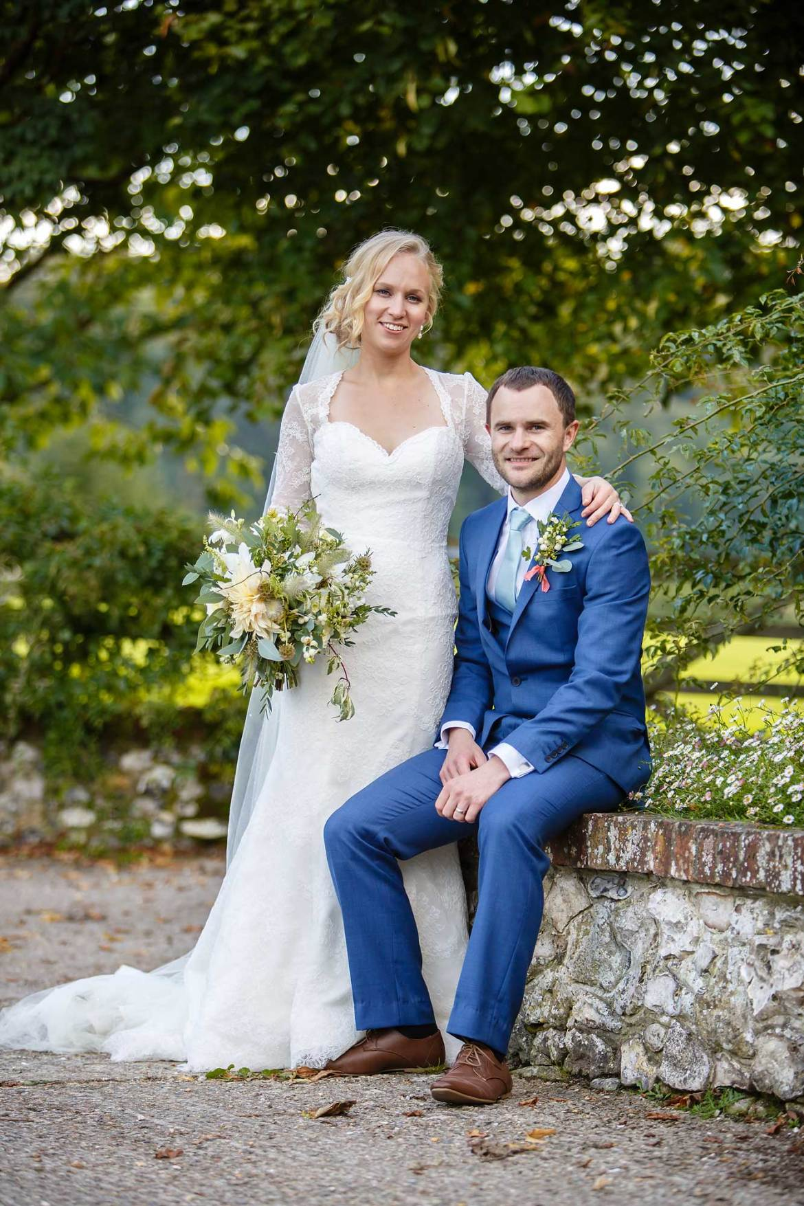 Tithe barn petersfield documentary wedding photos