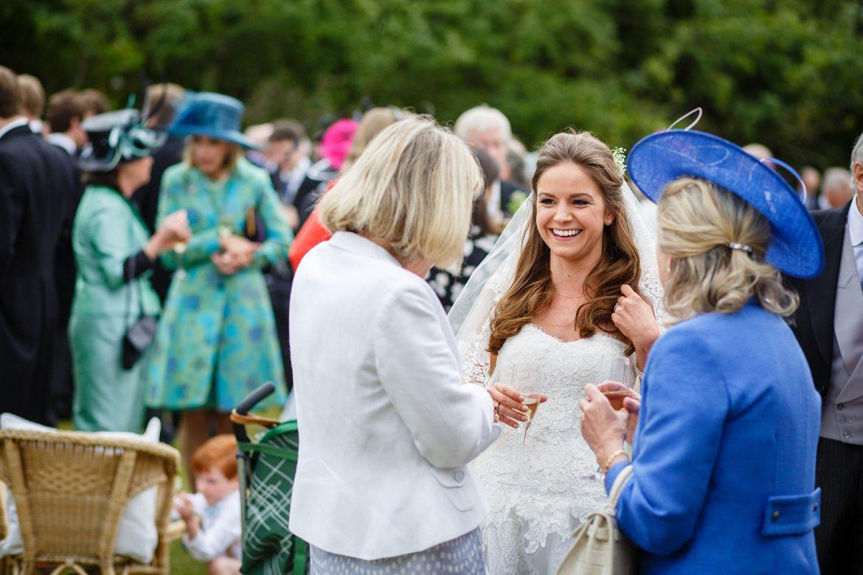 bride at kent wedding