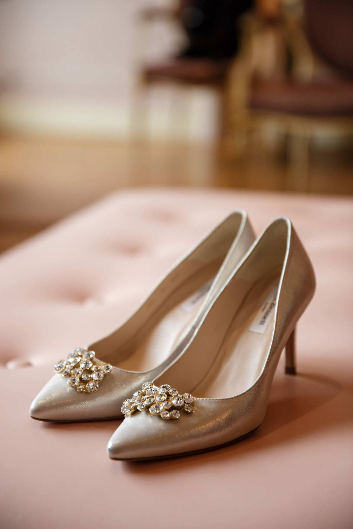 claridges wedding shoes