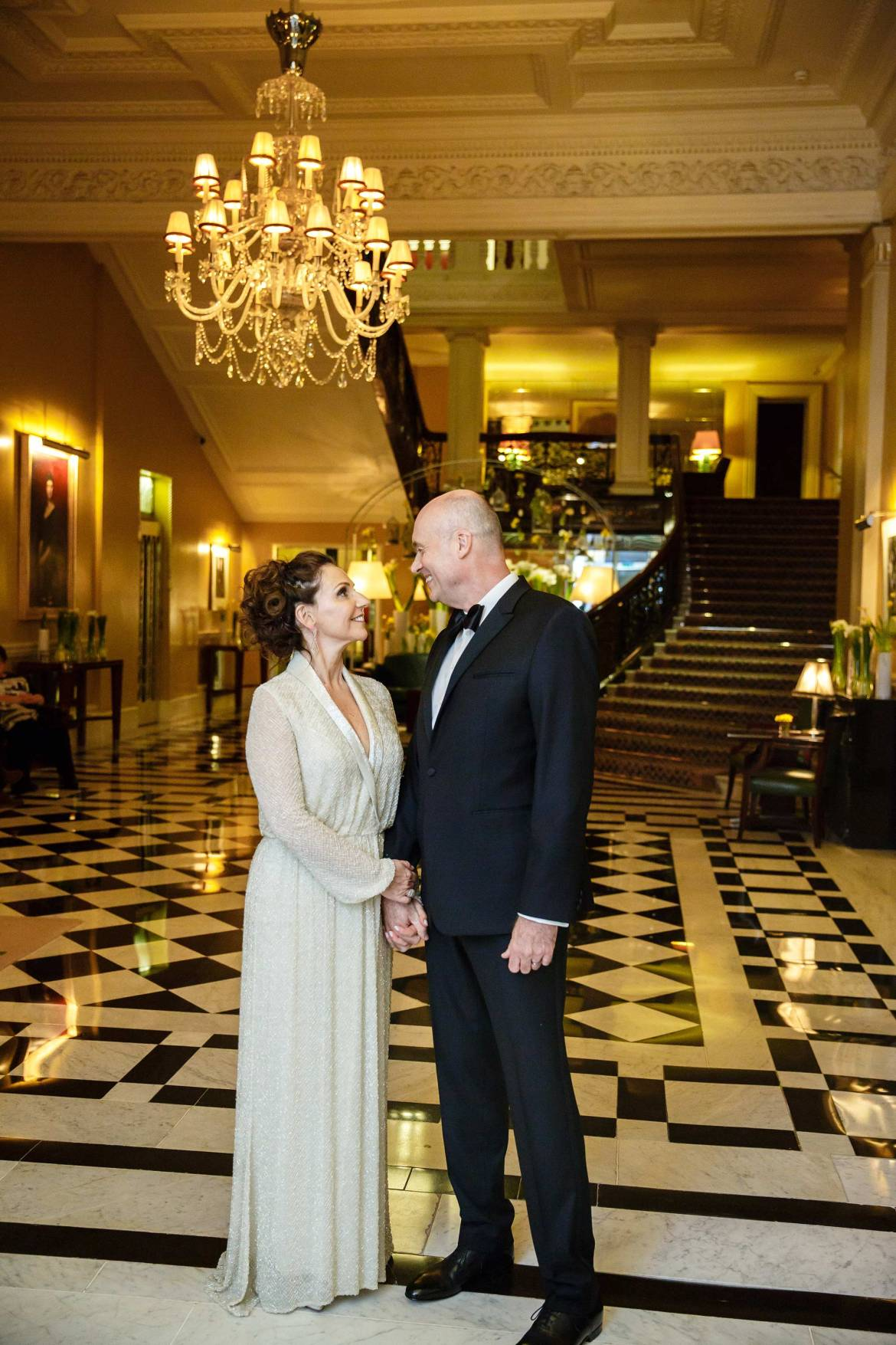 Claridges Wedding Photos