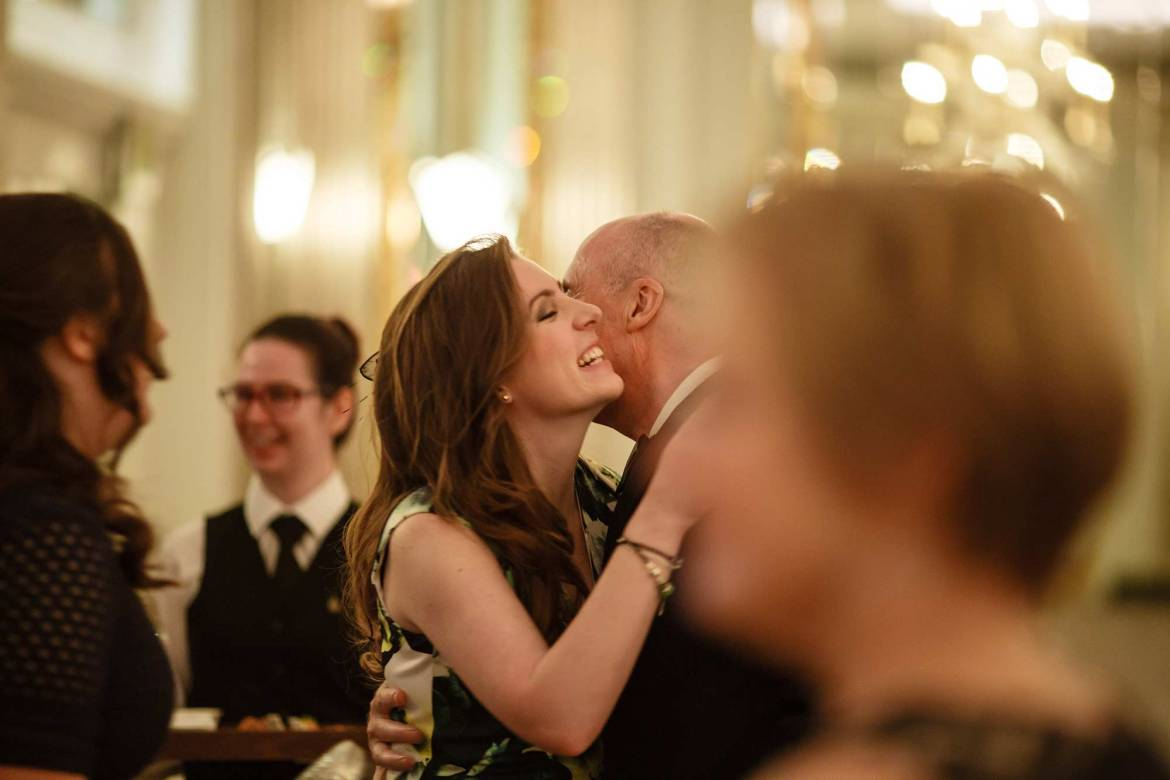 Claridges documentary wedding photographer