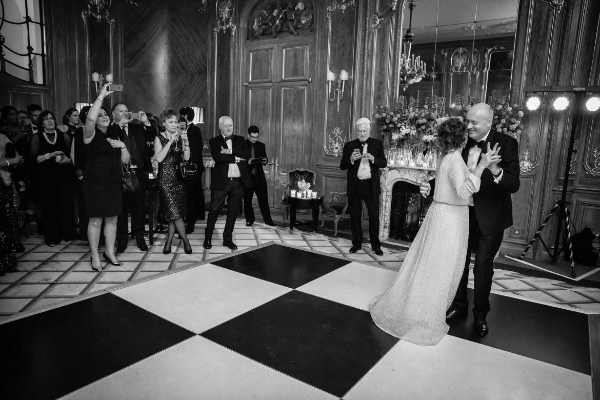first dance at claridges wedding