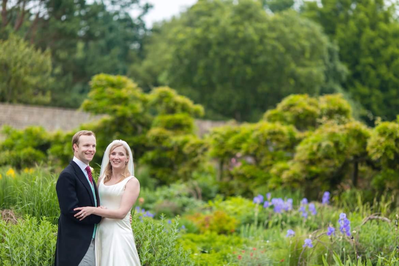 Fulham Palace Wedding walled garden photos