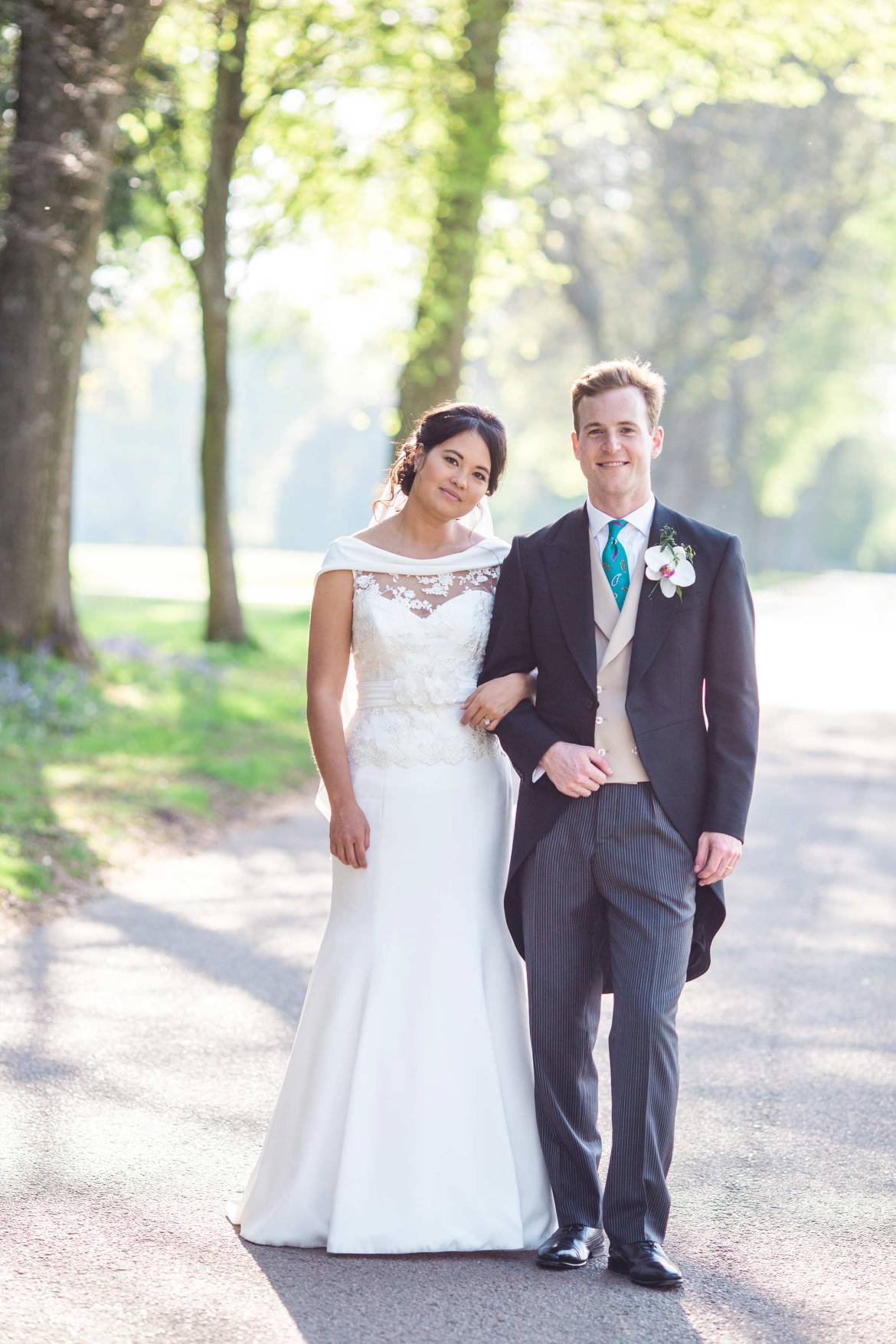 Spring wedding at Goodwood House