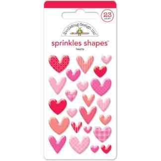 Doodlebug Design Sprinkles Hearts