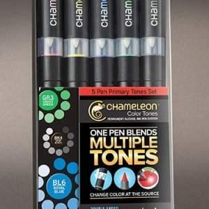 Chameleon Color Tones 5 Pen Set Primary Tones