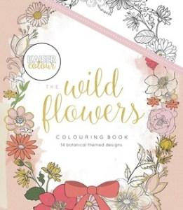 Kaisercolour The Wild Flowers Colouring book